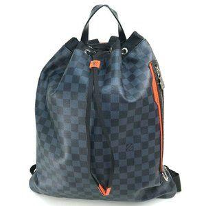 LOUIS VUITTON N40170 Damier cobalt Gym-backpack
